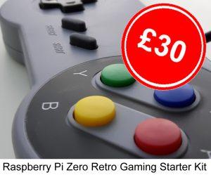 First Coding - DIY Raspberry Pi Retro Gaming Kit