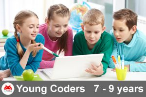 Young Coder's Course - First Coding Creative Coding for Kids