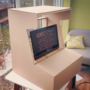 Retro Pie Raspberry Pi Arcade Cabinet First Cut