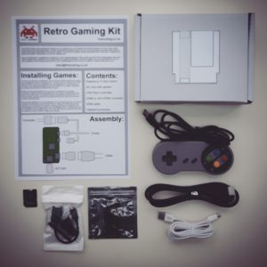 Raspberry Pi Retro Gaming Kit