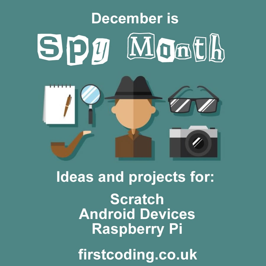 First Coding Spy Month - December 2017