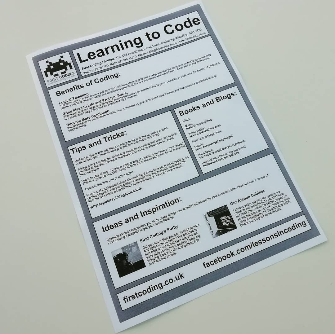 First Coding Guide to Learning to Code