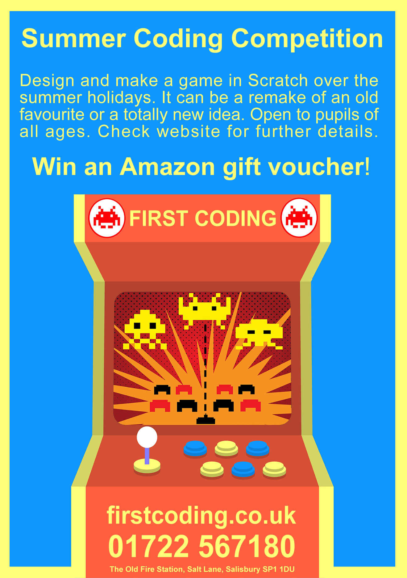 First Coding - Summer Holiday Coding Competition