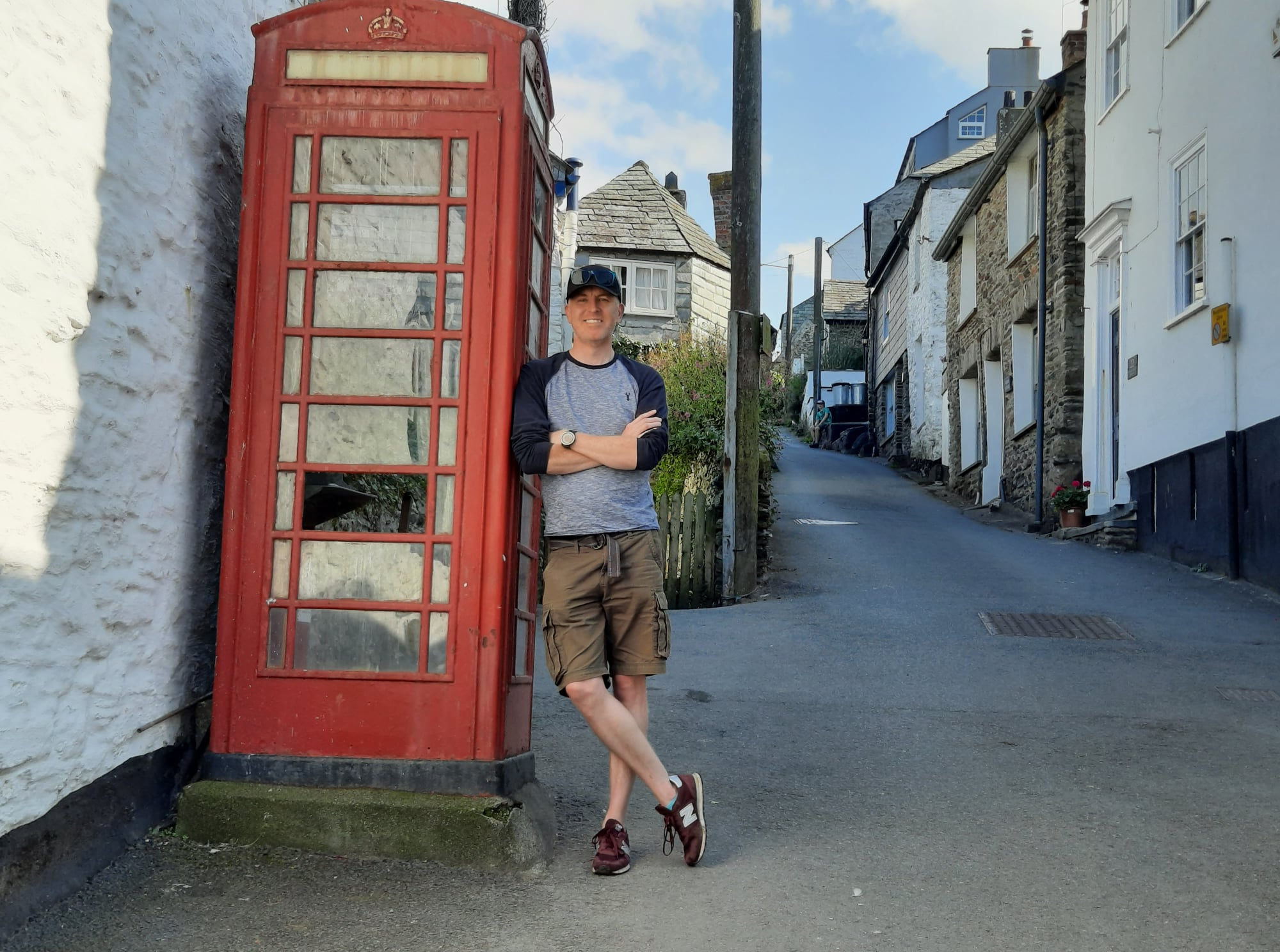 K6 Payphone at Port Isaac with First Coding